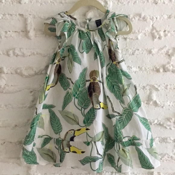 2c2079405 GAP Dresses | Baby Tropical Toucan Sundress | Poshmark
